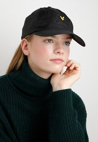 Lyle & Scott - RIPSTOP CAP - Kšiltovka - true black - 4