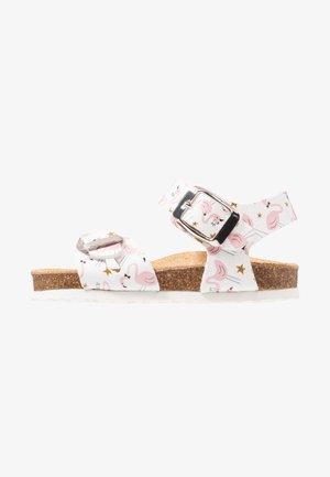 Sandalias - bianco/rosa