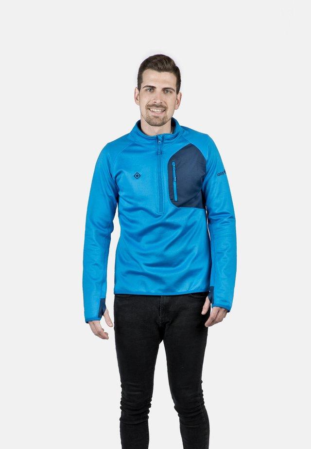 LALOC - T-shirt sportiva - blue river/bluemoon