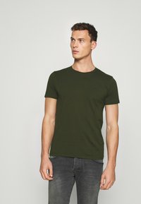 LTB - 2 PACK - T-shirts - bordeaux/ olive - 2