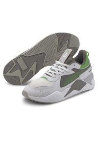 Puma - RS-X HARD DRIVE - Trainers - puma white-steel gray - 2