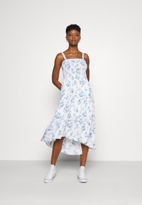Hollister Co. - CHAIN MIDI DRESS - Day dress - white - 0