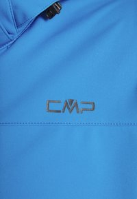 CMP - MAN ZIP HOOD JACKET - Softshelljacka - regata - 2