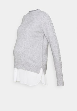 TIFA 2 IN 1 - Strickpullover - grey