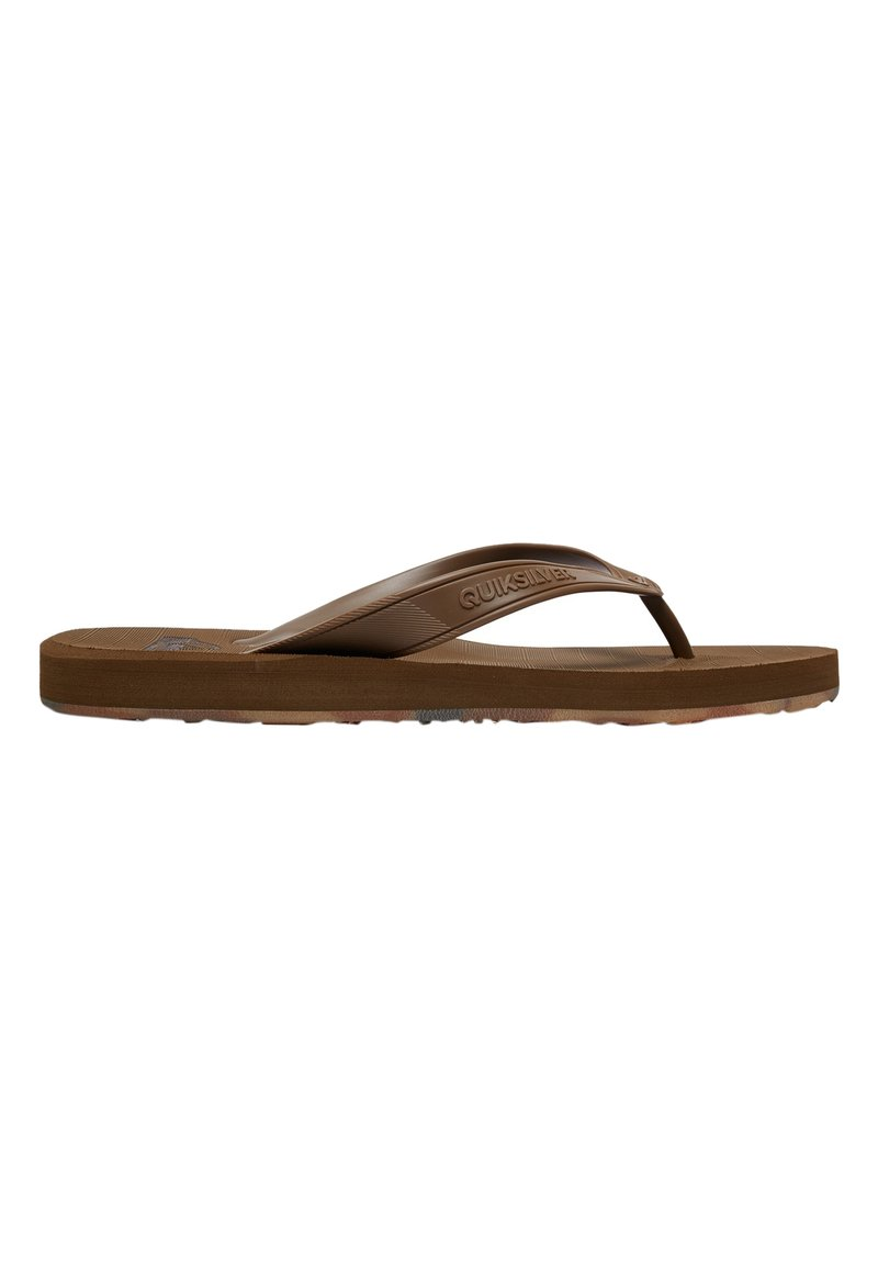 Quiksilver - T-bar sandals - tan - solid