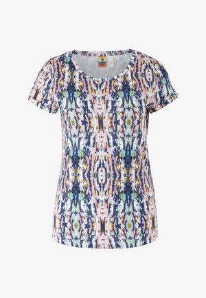 Print T-shirt - pink aop