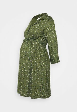 MLLEVETTA DRESS  - Paitamekko - olivine