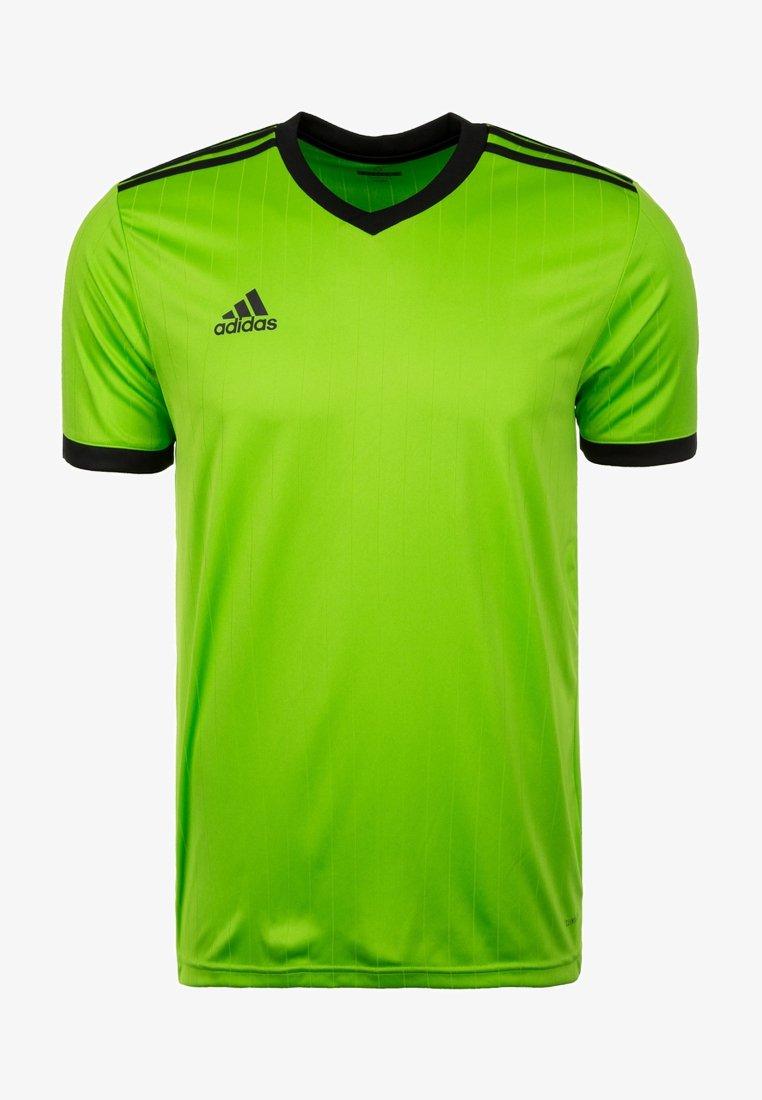 adidas Performance - TABELA 18 - Print T-shirt - green/black