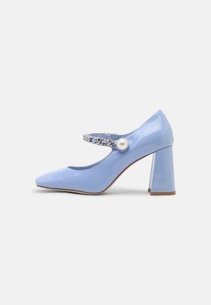 BOURDIN - Classic heels - periwinkle