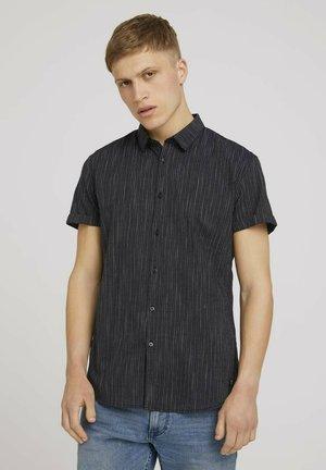 Camicia - black and white stripe