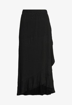 JDYFANTORINI WRAP SKIRT - A-snit nederdel/ A-formede nederdele - black