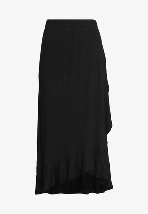 JDYFANTORINI WRAP SKIRT - A-line skirt - black