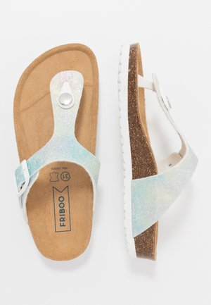 Sandaler m/ tåsplit - light blue