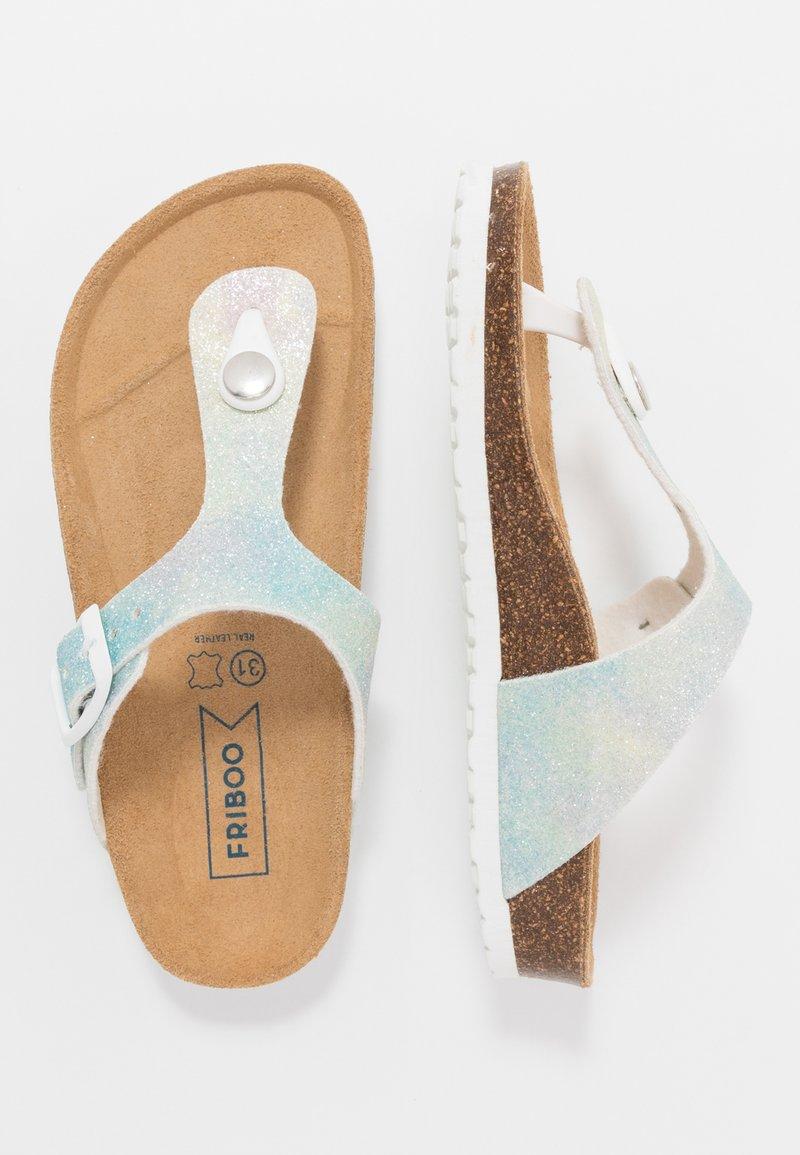 Friboo - Sandály s odděleným palcem - light blue
