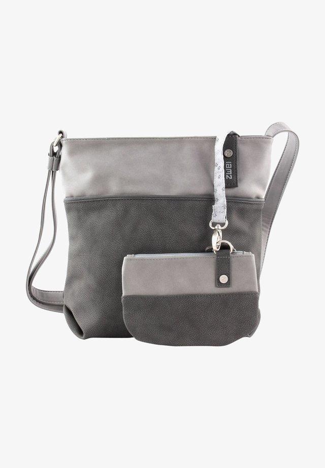 Handbag - nubuk-stone