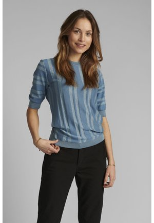 Print T-shirt - blue shadow