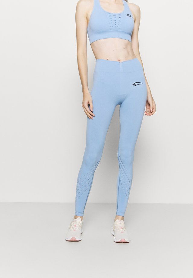 SEAMLESS KOMPRESSIONS INTENSE - Legging - hellblau