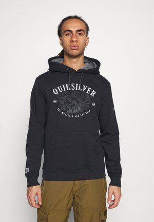 BIG LOGO HOODIE - Hoodie - true black