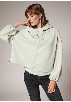 MODALMIX - Zip-up sweatshirt - misty green