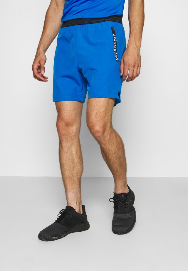 ADILS SHORTS - Sports shorts - electric blue lemonade