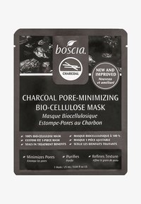 Boscia - CHARCOAL PORE-MINIMIZING BIO-CELLULOSE MASK - Masker - clear - 0