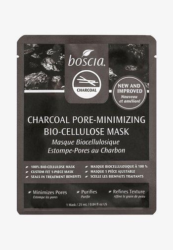 CHARCOAL PORE-MINIMIZING BIO-CELLULOSE MASK - Face mask - clear