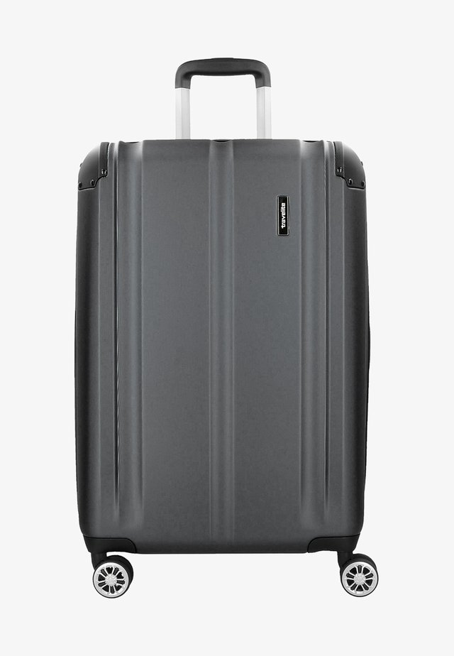 CITY  - Wheeled suitcase - anthracite