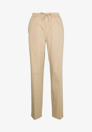 PANTALON DE VILLE - Bukser - beige