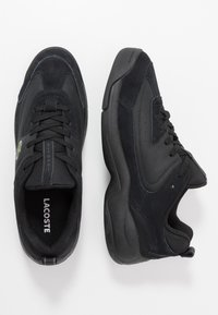 Lacoste - V-ULTRA - Sneakers laag - black - 1