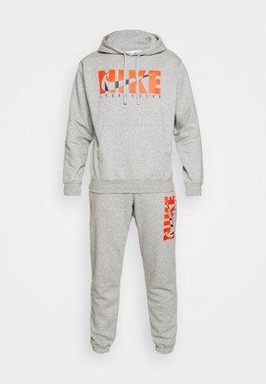 SUIT - Training jacket - dark grey heather/base grey