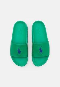 Polo Ralph Lauren - CAYSON UNISEX - Sandaler - billard green/royal blue - 3