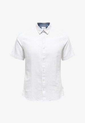 ONSCAIDEN SHIRT PLUS - Skjorta - white