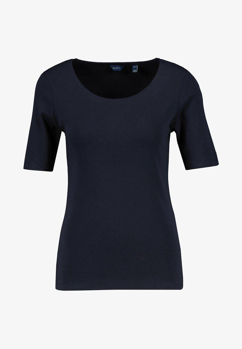 GANT - Basic T-shirt - marine