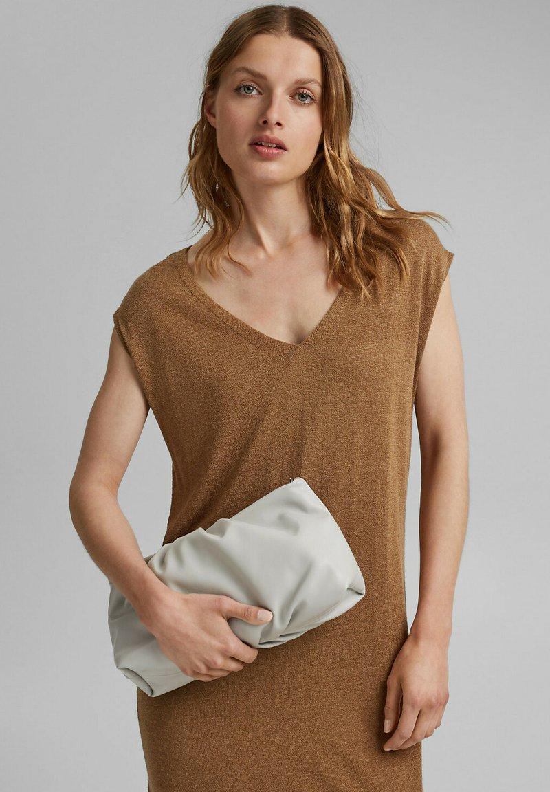 Esprit - RUTH - Handbag - light grey