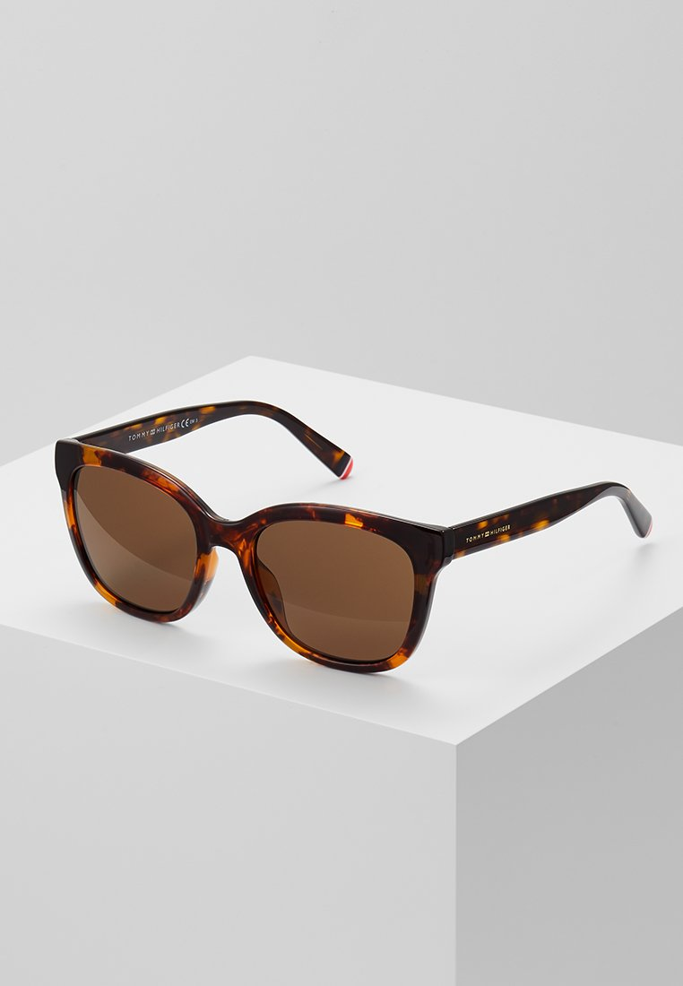 Tommy Hilfiger - Sunglasses - dark havana
