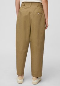 Marc O'Polo DENIM - Trousers - suntanned - 2