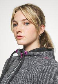 Campagnolo - WOMAN JACKET FIX HOOD - Fleece jacket - ghiaccio/graffite/nero - 3