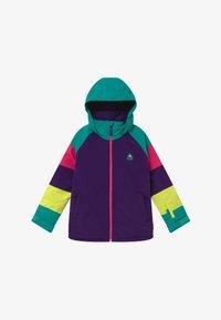 Burton - Kurtka snowboardowa - purple/turquois - 2