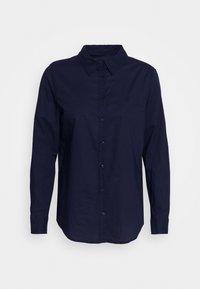 Benetton - Button-down blouse - navy - 0