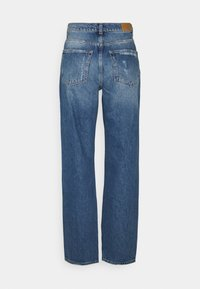 Gina Tricot - 90S HIGH WAIST - Jeans relaxed fit - midnight destroy - 1