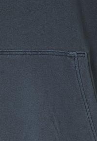 Jack & Jones - JJEWASHED HOOD - Huppari - navy blazer/relax/overdyed - 2