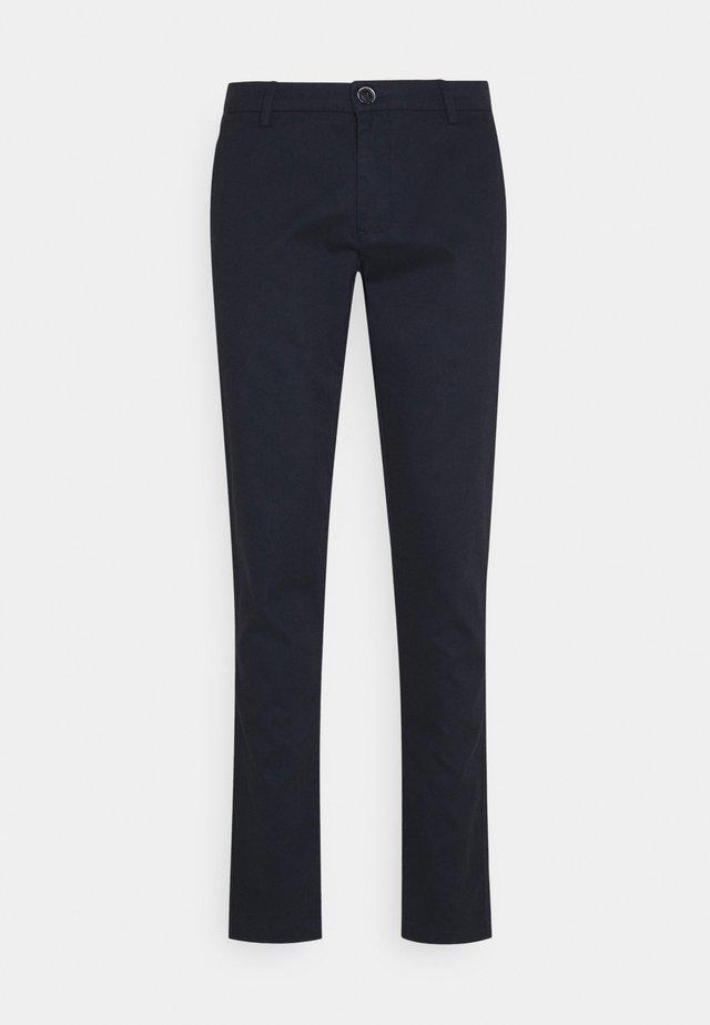 BARNEY - Chino kalhoty - navy