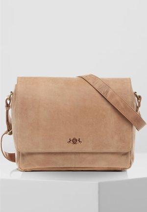MESSENGER BAG - SPENCER - Laptop bag - beige