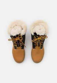Timberland - 6 INCH HERIT PUFFER - Winter boots - wheat - 5