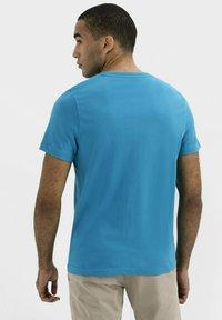 camel active - Print T-shirt - ocean blue - 2