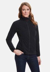 Jeff Green - ANNE - Fleece jacket - black - 0