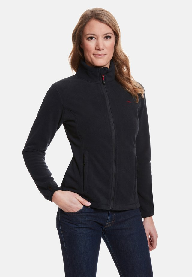 ANNE - Fleece jacket - black