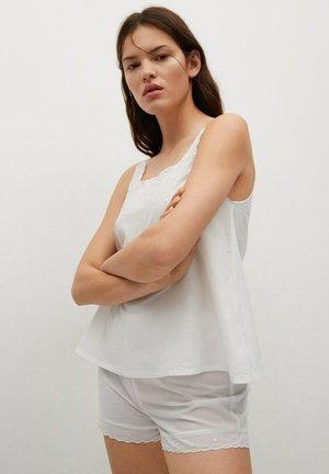 SET - Pyjamas - blanc cassé