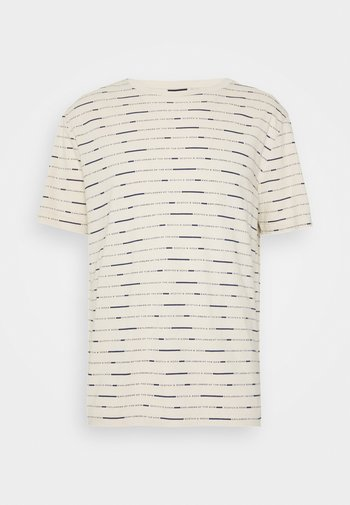 SHORT SLEEVE TEE WITH ALLOVER PRINT