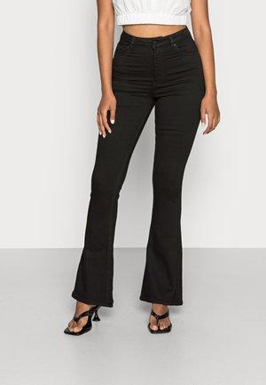 NATASHA BOOTCUT JEANS - Flared jeans - black